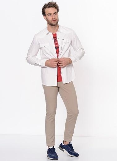 Lee Cooper Uzun Kollu Gömlek Taş